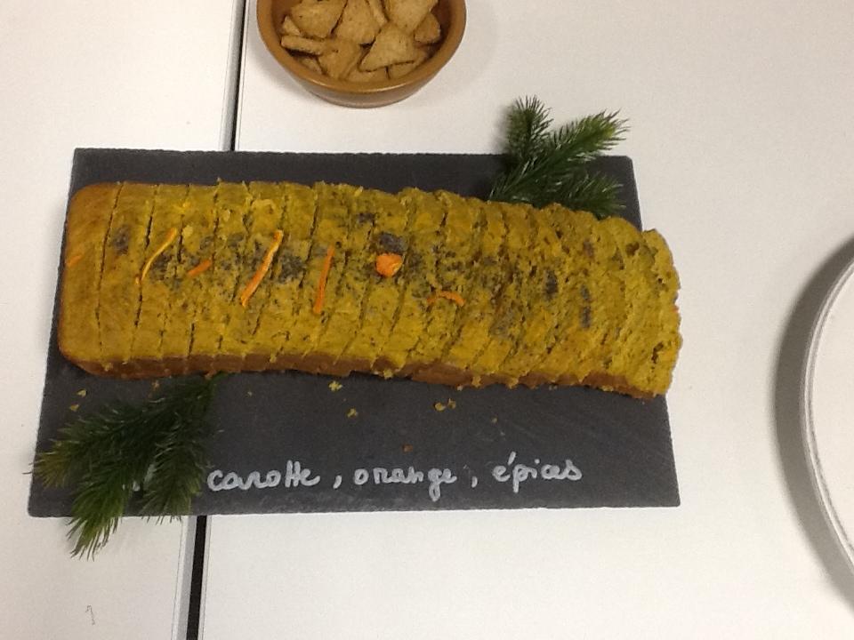 Cake carotte orange